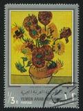 Girassóis por Van Gogh Imagens de Stock