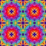 Girassol ou mandala colorida do vetor fotos de stock