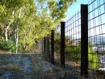 Girder fence Stock Images