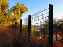 Girder Fence Royalty Free Stock Image