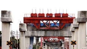 Girder and Pillar Construction site Stock Images