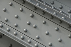 Girder with rivets Royalty Free Stock Photography