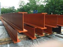 Steel beams, girders stock photos