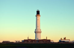 Girdleness Lighthouse, Aberdeen, Scotland Royalty Free Stock Photography