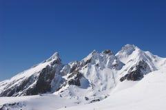 The Girdlestone Peak, Ruapehu Stock Images