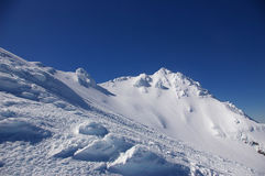 The Girdlestone Peak, Ruapehu Royalty Free Stock Photo