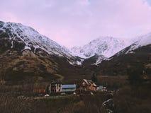 Girdwood, Аляска Стоковые Изображения