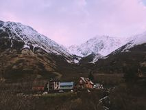 Girdwood, Alaska Stockbilder