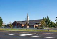 Gire aqui na igreja imagem de stock royalty free