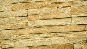 Gire de piedra decorativa Levante el granito a la casa Pared de la piedra almacen de metraje de vídeo