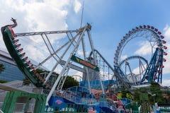 Giri dell'attrazione a Tokyo Dome Immagine Stock Libera da Diritti