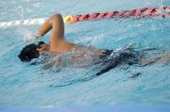 Giri di nuotata Immagini Stock Libere da Diritti