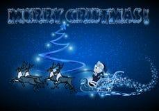 Giri di Santa su EVE Fotografia Stock