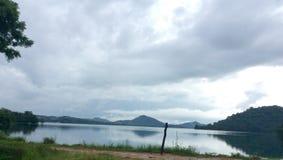 Giritale湖 免版税库存照片