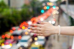 girl& x27; рука s стоковое фото