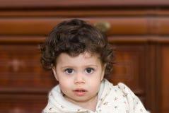Girl. Closeup portrait of adorable girl Royalty Free Stock Image