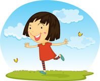A Girl Stock Photography