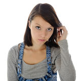 The girl. Stock Photography