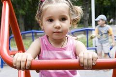 Girl. Portrait of little cute girl Royalty Free Stock Photo