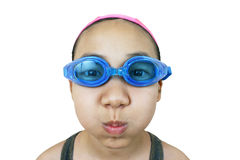 Girl. Young girl in swimming suit royalty free stock photography
