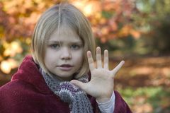 A girl Royalty Free Stock Image