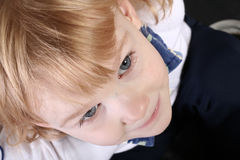 Girl from above Royalty Free Stock Photo