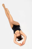 Girl acrobat Stock Photography