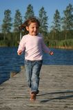 Girl active Stock Photography