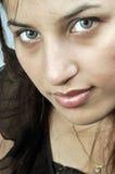 Girl with amazing eyes Stock Photo