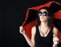 Free Girl And Umbrella Royalty Free Stock Photos - 3963478