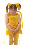 Girl angel. Stock Photos
