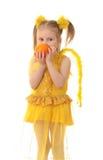 Girl angel. Stock Photo