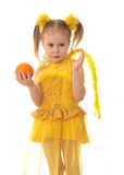 Girl angel. Royalty Free Stock Photography