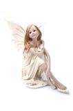 Girl angel Stock Image