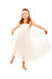 Girl with angel wings Royalty Free Stock Photo