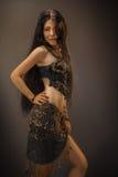 Girl in arabian dress Royalty Free Stock Photography