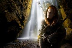 Girl archer Stock Photography