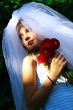 Girl as bride Royalty Free Stock Image