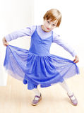 Girl as a dancer Royalty Free Stock Image