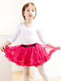 Girl as a dancer Royalty Free Stock Images