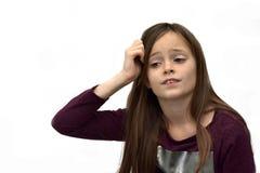 Girl as pantomime Stock Image