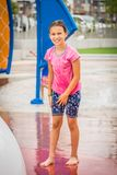 Girl At A Playground Royalty Free Stock Photography