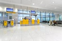Girl At Airport Royalty Free Stock Photos