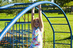 Free Girl At Playground Stock Photo - 2931650