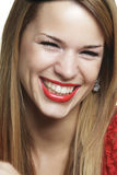 Girl with an attractive smile Royalty Free Stock Image