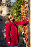 Girl in Autumn Royalty Free Stock Photos