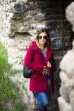 Girl in Autumn Stock Photography