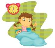 A girl awaken Stock Images