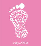 Girl Baby shower Royalty Free Stock Photos