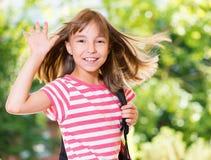 Free Girl Back To School Stock Image - 73785591